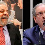 Cunha na premiada e Lula sendo preso