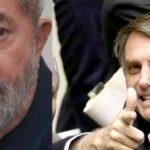 Para datafolha Lula lidera, mas quem cresce é Bolsonaro